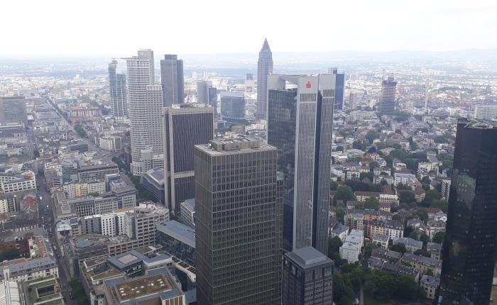 Frankfurt – vonOben