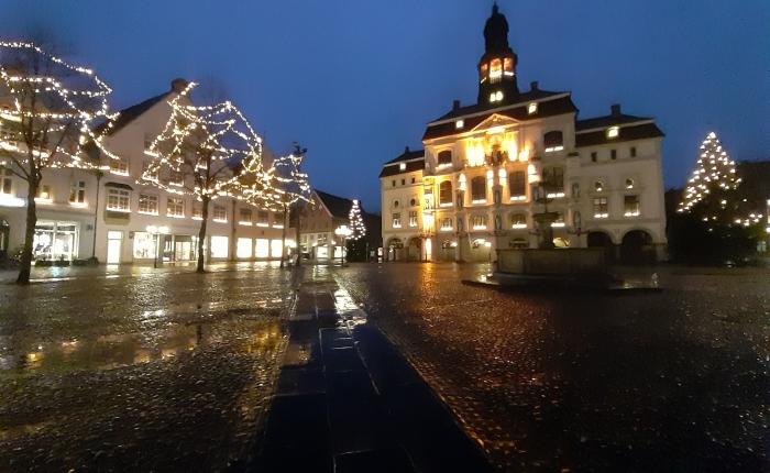 Lüneburg am Heiligabend