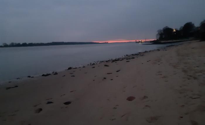 Strandspaziergang – nachFeierabend